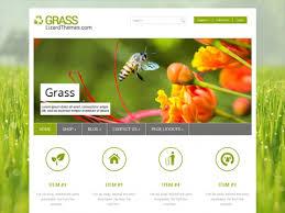 grass free wordpress theme