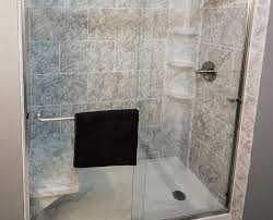 ultra clear vs standard clear glass the glass shoppe a division tub to shower conversion convert bath to shower luxury bath before after