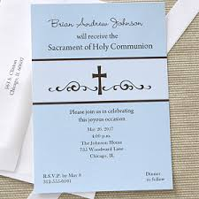 communion invitations precious prayers personalized boy s communion invitations