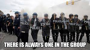 Group Photo Meme - there is always one in the group 2015 baltimore riots know