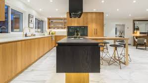 Kitchen Design Nz Top Auckland Kitchen Has A Pared Back Design In Natural And Dark
