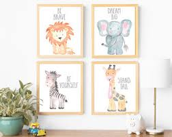 Decor Nursery Neutral Nursery Etsy