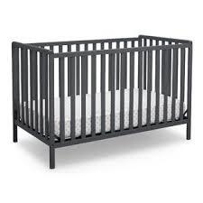 Delta Convertible Crib Delta Children Heartland 4 In 1 Convertible Crib Charcoal Grey