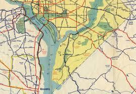 Map Washington Dc Washington D C 1942 Map U2013 On The Road