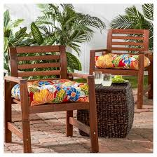 Aloha Furniture by Set Of 2 Outdoor Chair Cushions Aloha Red Greendale Home