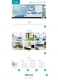 home interior website free html5 theme for interior site