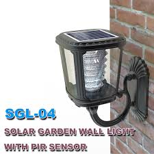 china integrated solar garden led outdoor wall light solar product
