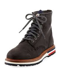 womens boots vancouver moncler vancouver leather lace up boot shoes