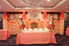 Wall Decoration With Balloons by Communions U0026 Christenings Balloon Artistry