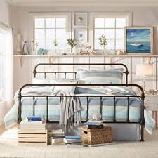 Metal Bed Headboard And Footboard Rustic Metal Bed Frames Bedroom French Country Bedroom Furniture