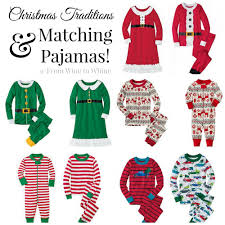 christmas traditions u0026 matching pajamas from wine whine