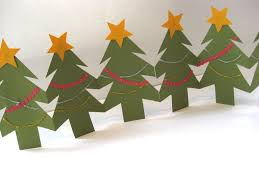making a christmas tree out of paper christmas lights decoration