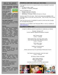 town newsletters