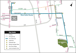San Jose Bus Routes Map by Transportation And Parking
