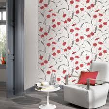 grey wallpaper with red flowers grey and red living room wallpaper conceptstructuresllc com