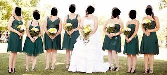 what do you think about doing different bridesmaid dresses in the