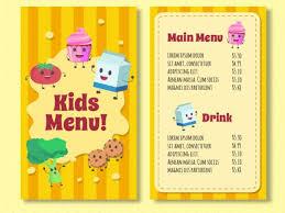 menu template 9 free menu templates free premium templates