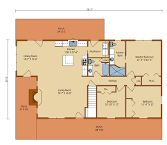 feature home of the month liberty log and 4 bedroom floor plans