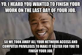 Finished Meme - leaving work on friday meme funny pictures and images