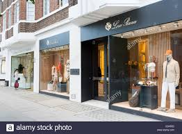 loro piana luxury designer clothes shop on sloane street london