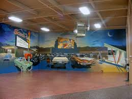 overstreet house of cars mural is complete rayharveyart the