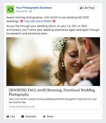 5 sample photography facebook ads you can use right away