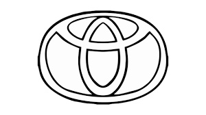 jeep logo drawing how to draw the toyota logo symbol emblem youtube