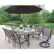 Patio Set 6 Chairs by Oakland Living Elite All Weather Wicker Patio Dining Set Oakland