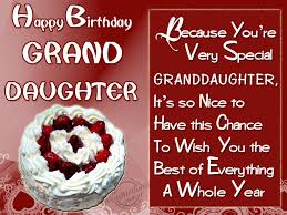 great birthday wishes for granddaughter wishing you happy