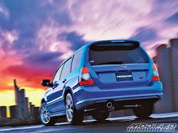 subaru forester grill building your own subaru forester sti modified magazine