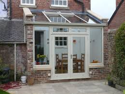 Small Kitchen Extensions Ideas Basic Lean To Design Hardwood Conservatory Derbyshire Our Lil