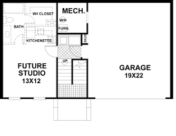 garage floor plan split foyer plan 999 square 2 bedrooms 2 bathrooms 036 00003