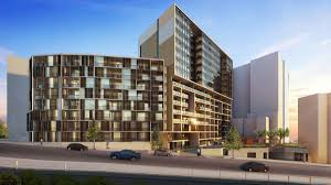 Metro Arena Floor Plan by 100m Arena Apartments Approved Newcastle Herald