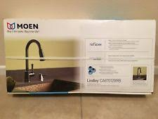 moen lindley kitchen faucet moen 87038brb bridgestone pulldown kitchen kaucet mediterranean
