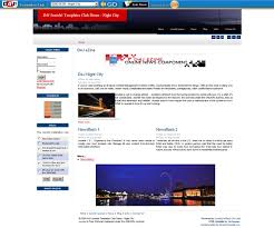 night city u2013 d4j magazine template joomla templates
