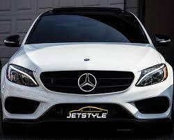 amazon com jetstyle led emblem for mercedes benz front car