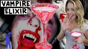 vampire elixir halloween tipsy bartender youtube