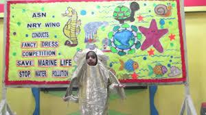 asn sr sec toddler save water pollution save marine life
