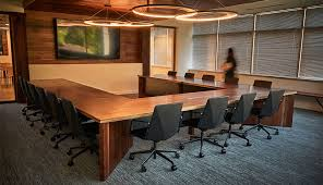 U Shaped Conference Table Dimensions Custom Commercial Furniture Dave Stine Woodworking