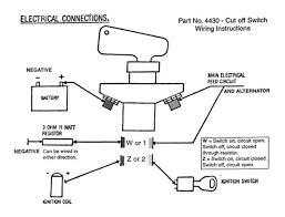 boat battery cut off switch wiring diagram car battery diagram