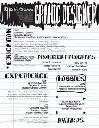 graphic design resume exle 30 artistic and creative résumés graphic design resume design