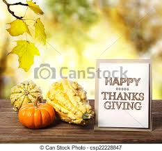 happy thanksgiving card with pumpkins happy thanksgiving stock
