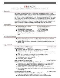Film Resume Sample by Film Crew Resume Sample Production Assistant Resume Skills Film