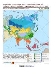 World Map 1975 by Map Gallery Sedac