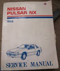 nissan pulsar nx 1988 service manual amazon com books