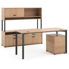 modern executive desk set marlin modern executive desk set in wheat eurway