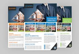 real estate flyers templates free real estate flyer psd template free download coding bank