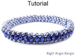 weave beaded bracelet images Beading tutorial pattern bracelet tubular right angle weave raw JPG
