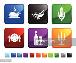 stains icons thanksgiving day vector getty images