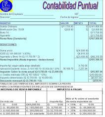 isr 2016 asalariados impuesto sobre la renta para contribuyentes en relacion de